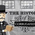 History of Corrugated Infographic