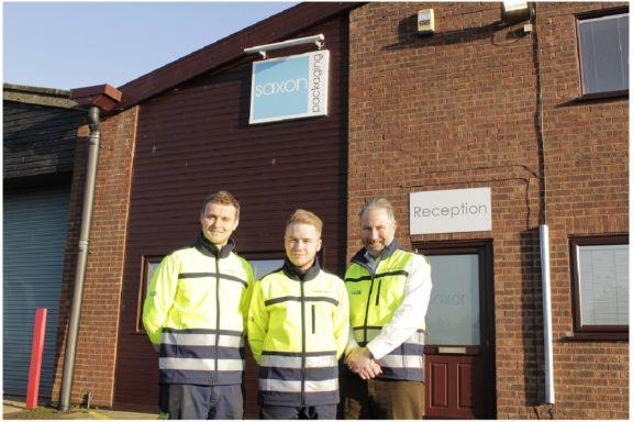 Saxon Packaging's First Apprentice
