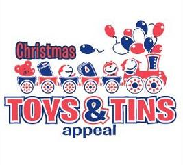 Saxon Supports The Salvation Army's Toys and Tins Appeal