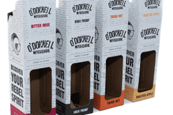 Gift Packaging for O'Donnell Moonshine