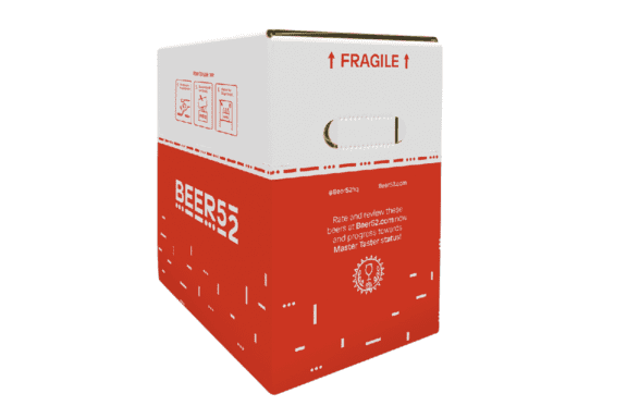 Beer Subscription Packaging for Beer52