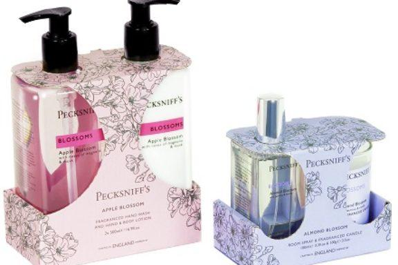A new range of recyclable gift packaging for Pecksniff's
