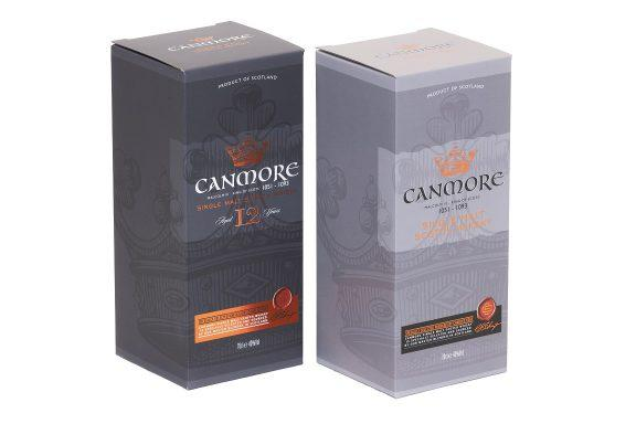 Premium Drinks Packaging for Canmore Whisky