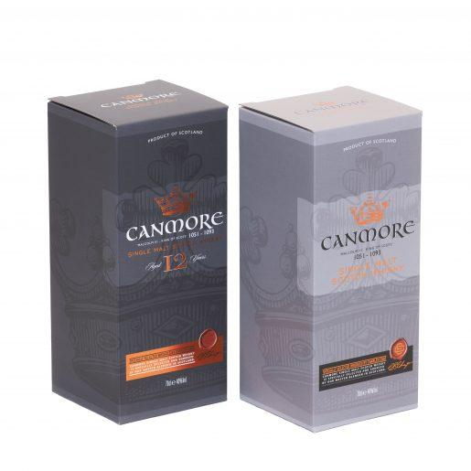canmore premium drinks packaging whisky packaging Saxon Packaging 01502 513112
