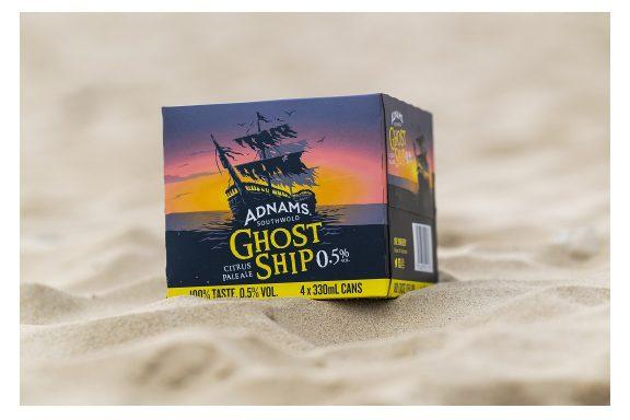 Adnams Ghost Ship 0.5% – Low Alcohol Fridge Pack