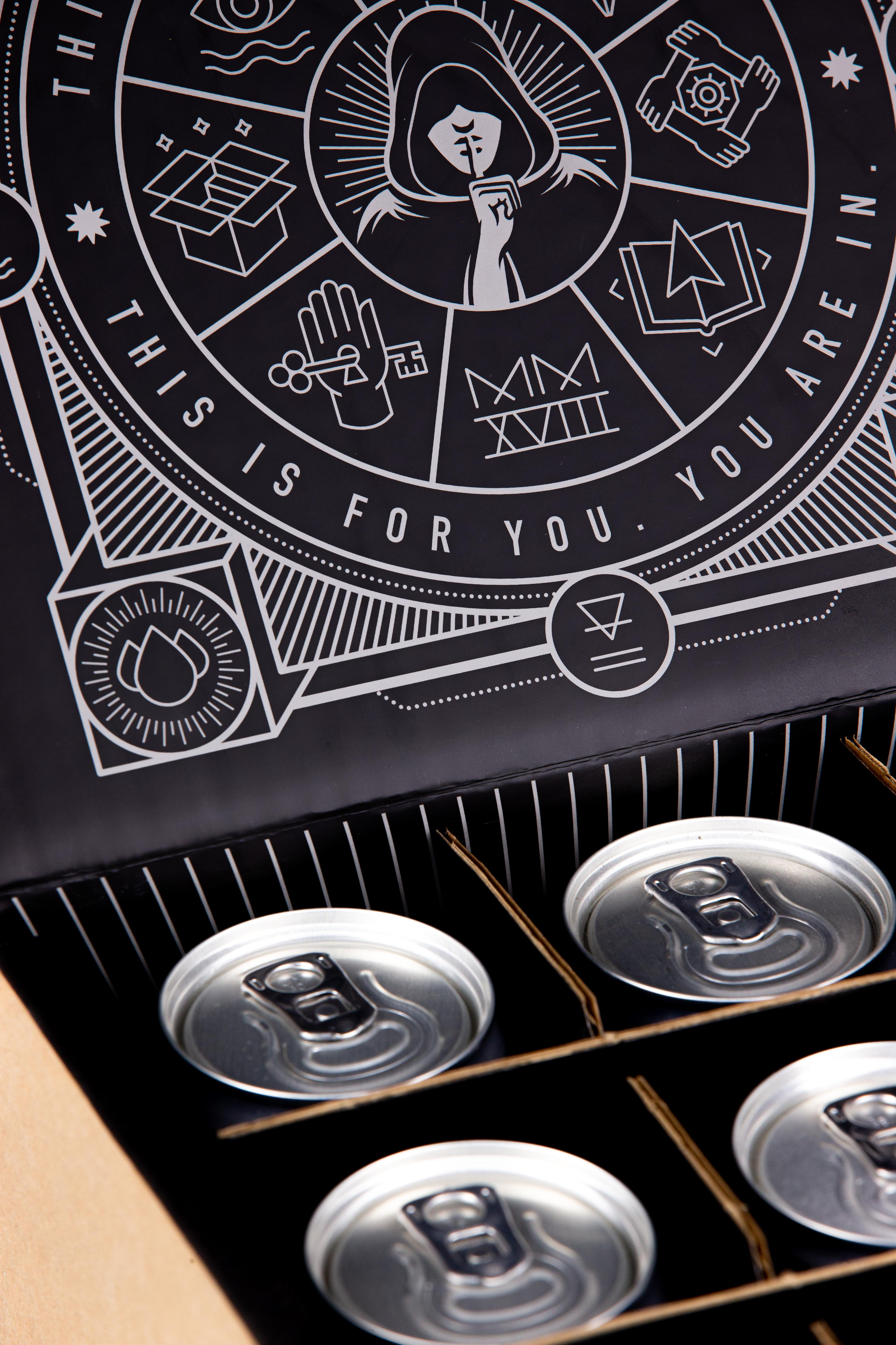 Patrons Society - Northern Monk Subscription Packaging - Saxon Packaging 01502 513112