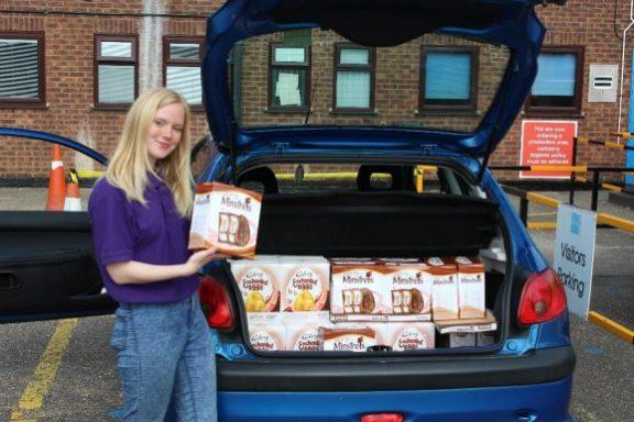 Easter Eggs for Lowestoft Food Bank