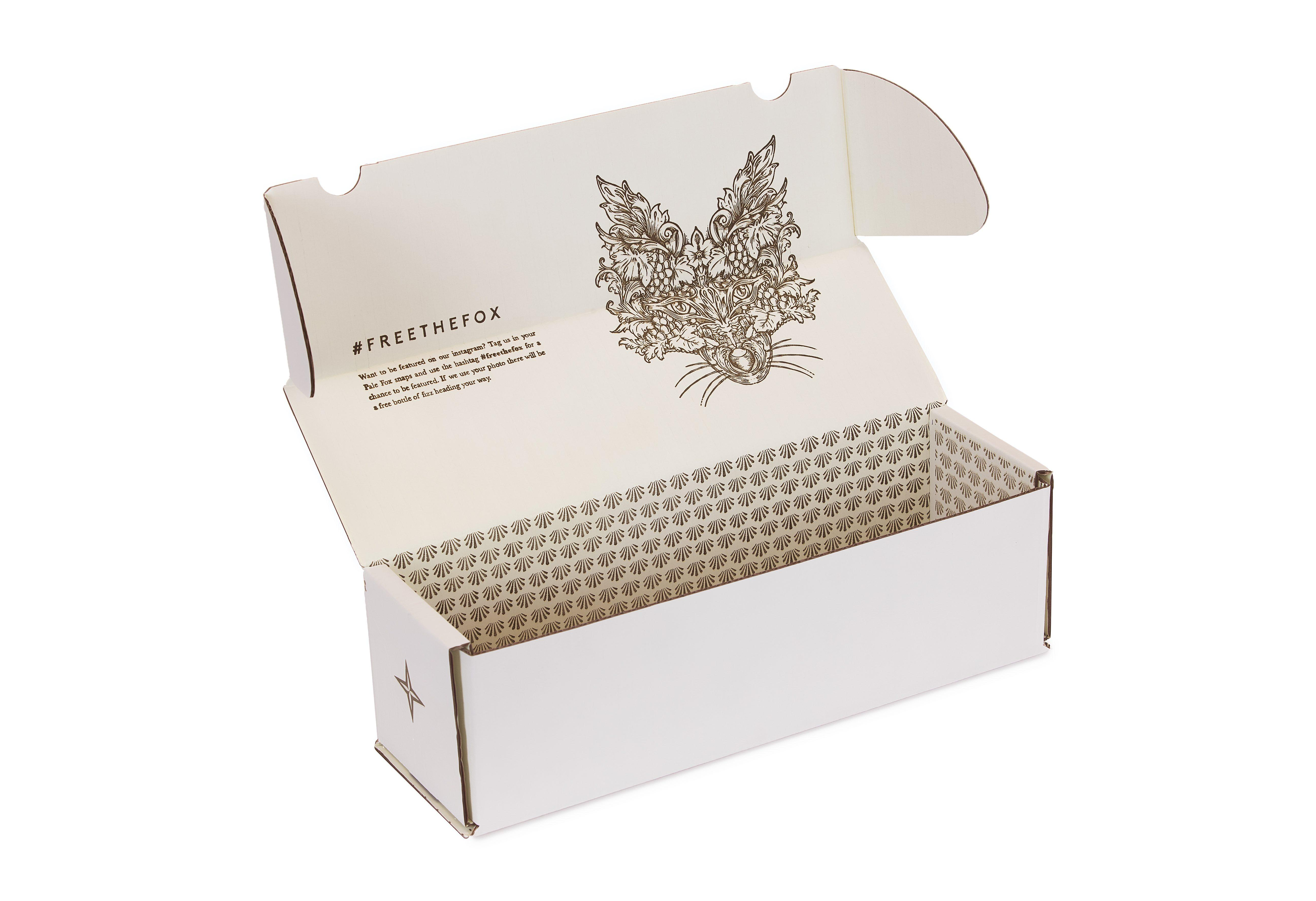 Pale Fox Prosecco Packaging | Saxon Packaging | 01502 513112 | Wine Packaging | Prosecco Pacaging | Champagne Packaging