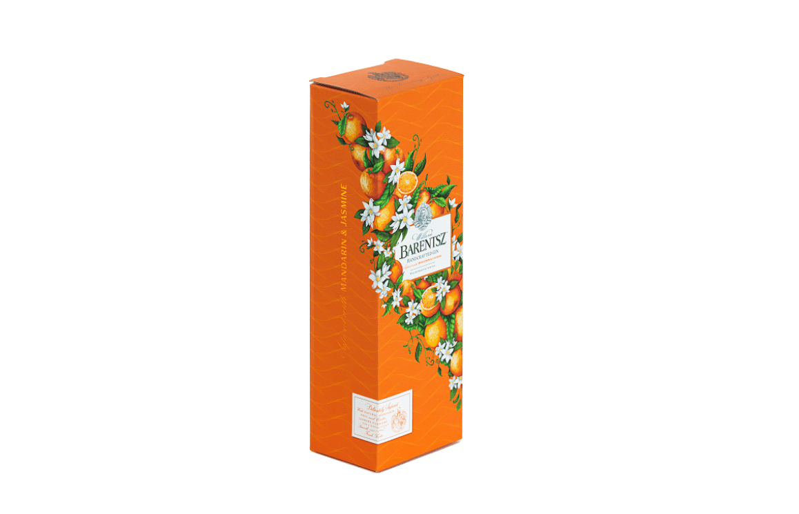Barentsz Gin Packaging | Claessens International | Saxon Packaging | Gin Packaging | Spirits Packaging | Premium Drinks Packaging | Gift Pack