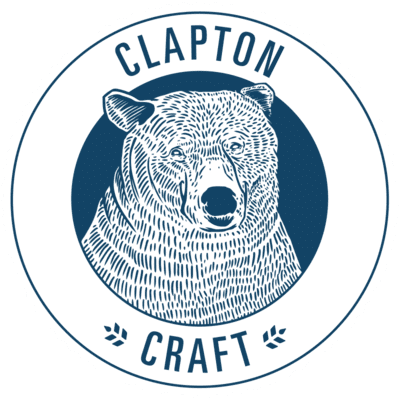 clapton craft logo | clapton craft beer | Saxon Packaging | Beer Packaging | Beer Boxes | Paper packaging solutions for beer