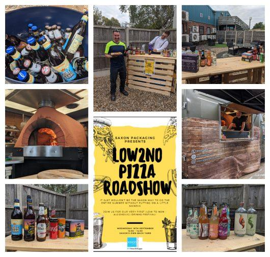 no2low drinks festival   pizza van lowestoft   Saxon Packaging   Wellbeing Event   01502 513112
