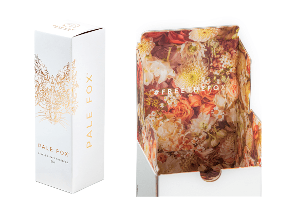 Pale Fox Prosecco Oozes Luxury With Latest Gift Packaging Solution