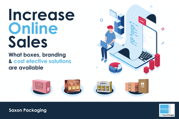 Increase online sales with packaging –  What boxes, branding & cost effective solutions are available