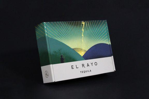 'Lightning-Striking' New Gift Packaging Design for El Rayo Tequila