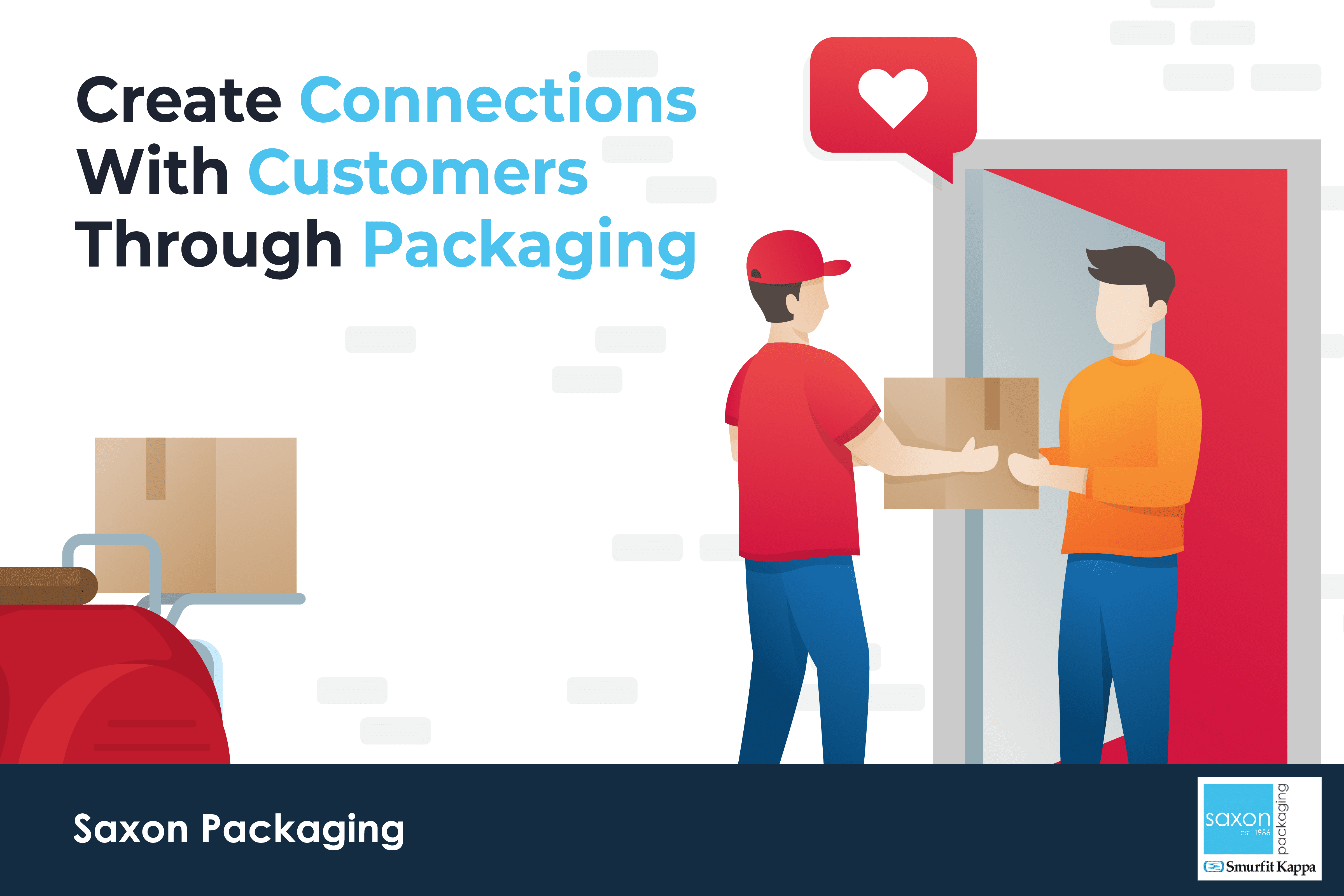 Create Connections With Customers Through Packaging   Saxon Packaging   UK Packaging Manufacturer   Corrugated Boxes   eCommerce Packaging   Packaging for Retail   Retail Packaging   Packaging Supplier   Advice for buying packaging