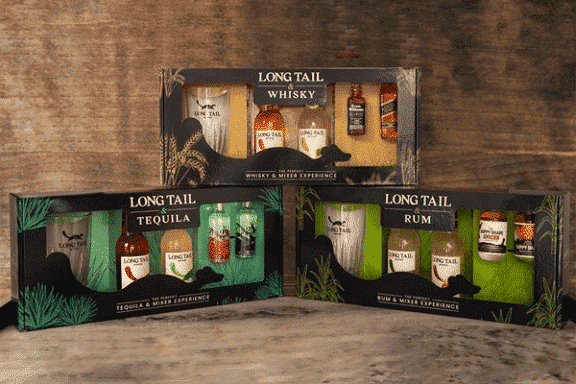 Long Tail Mixers – Gift Packaging